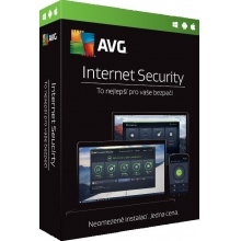 AVG Internet Security, 1 licence (12 měs.) ESD