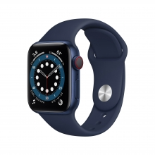 Apple Watch Series 6 40 mm 4G, niebeski