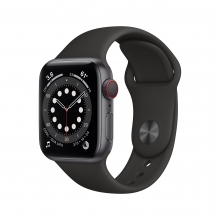 Apple Watch Series 6 40 mm 4G, szary