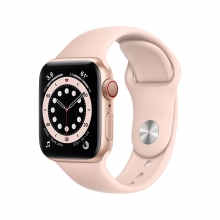 Apple Watch Series 6 40 mm 4G, złoto