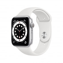 Apple Watch Series 6 40 mm, srebro